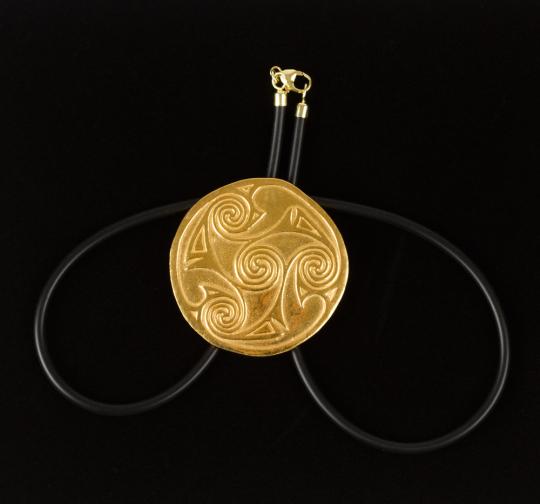 Keltischer Spiralanhänger, um 700 n. Chr.