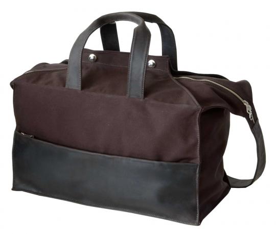 Kleine Reisetasche »Waxcan«, braun.