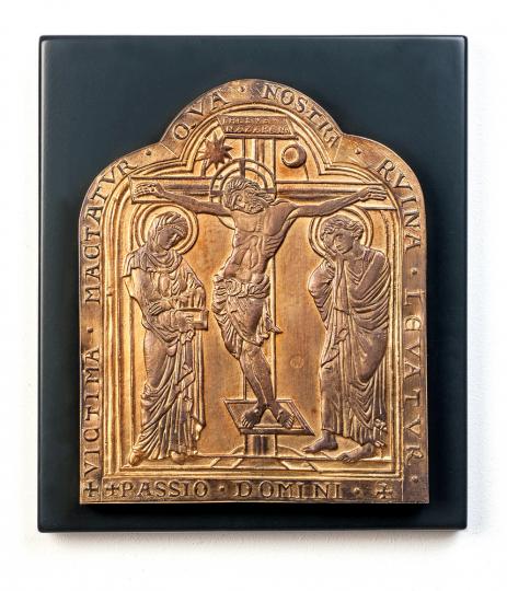 Klosterneuburger Altar »Kreuzigung Christi«. Österreich, 1181.