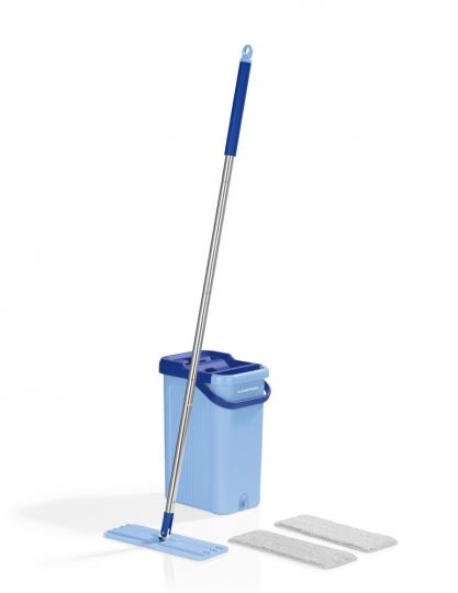 Komfort-Mopp, blau.
