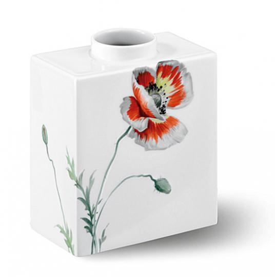 KPM Vase »Cadre Mohnmalerei«.