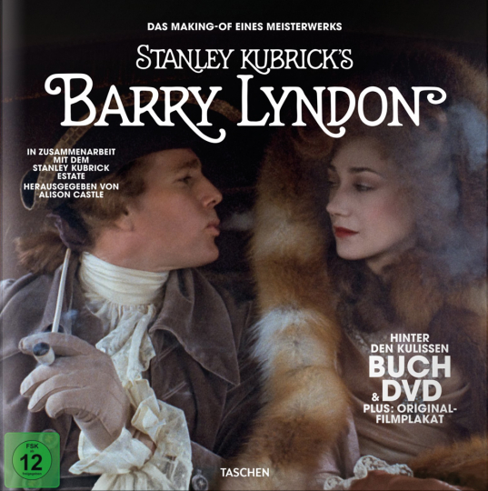 Kubricks »Barry Lyndon«. Buch & DVD.