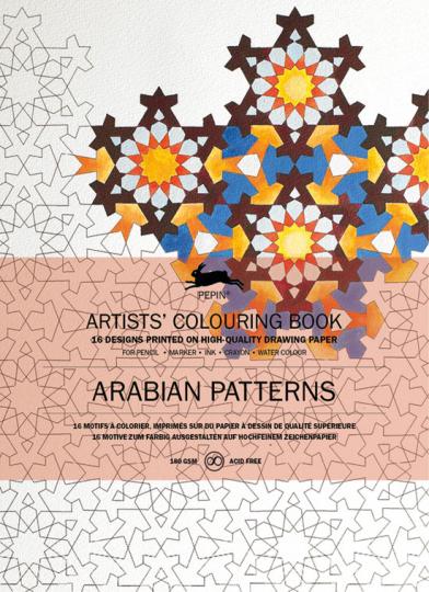 Künstler-Malbuch »Arabische Muster«.