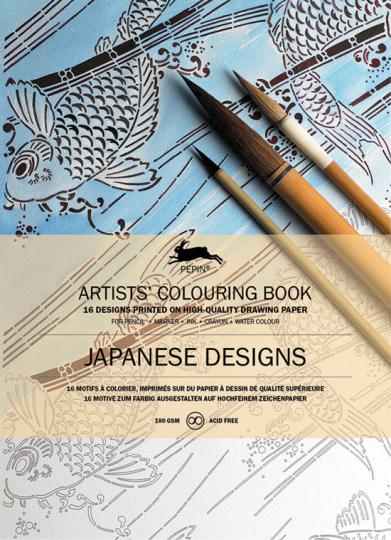 Künstler-Malbuch »Japanische Muster«.