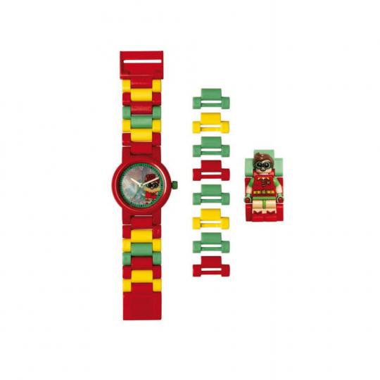 LEGO Robin Kinder-Armbanduhr mit Minifigur.