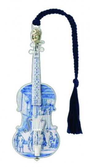 Lesezeichen »Geige«.