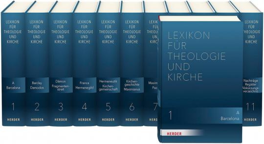 Lexikon für Theologie und Kirche. 11 Bände.
