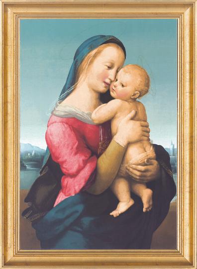 Madonna Tempi. Raffael (1483-1520).