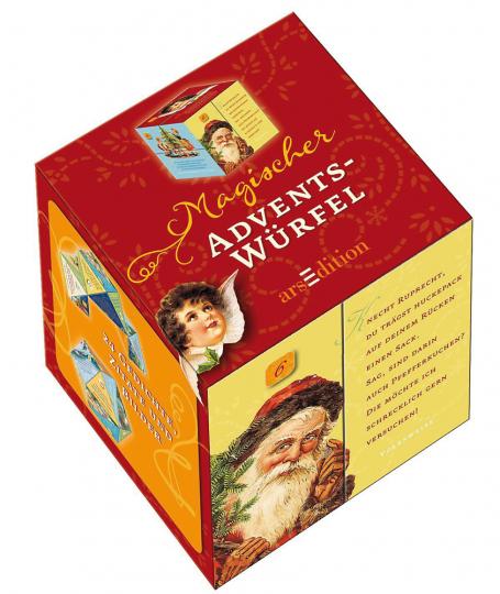 Magischer Advents-Würfel. Mit Bildern und Gedichten.