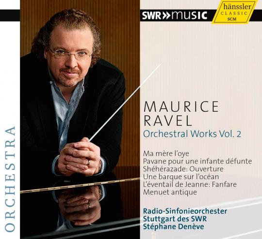 Maurice Ravel. Orchesterwerke Vol. 2. CD.