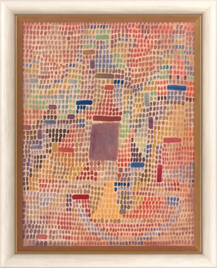 Mit dem Eingang. Paul Klee (1879-1940).