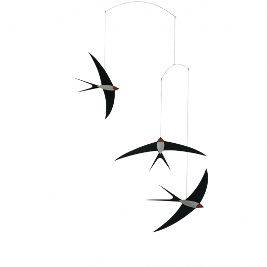 Mobile »Fliegende Schwalben«.