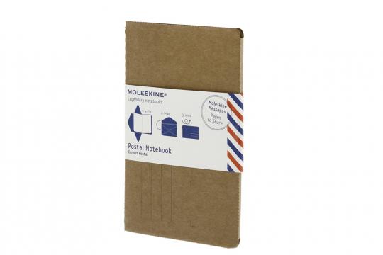Moleskine Brief-Notizheft. Groß, blanko, verschiedene Farben.