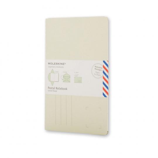 Moleskine Brief-Notizheft. Klein, blanko, verschiedene Farben.