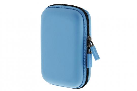 Moleskine Etui / Hardcase-Hülle, blau, klein.