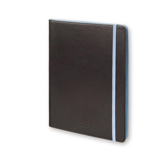 Moleskine Universalhülle für Tablets, schwarz-blau.