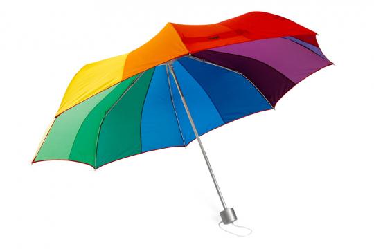 MoMA Taschenschirm »Regenbogen«.