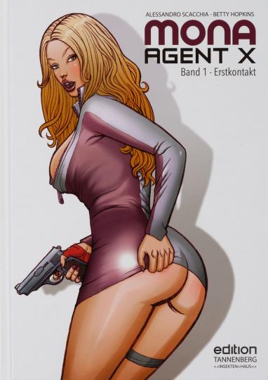 Mona Agent X. Band 1. Erstkontakt. Comic.