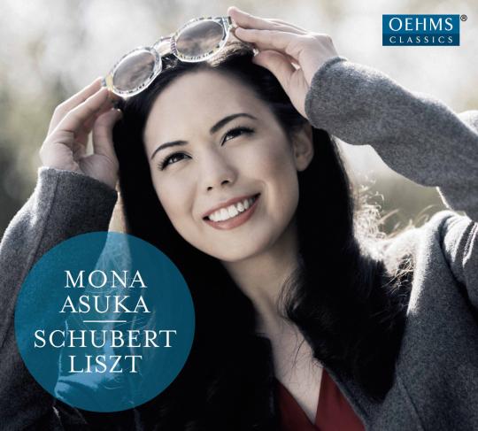 Mona Asuka. Schubert, Liszt. CD.