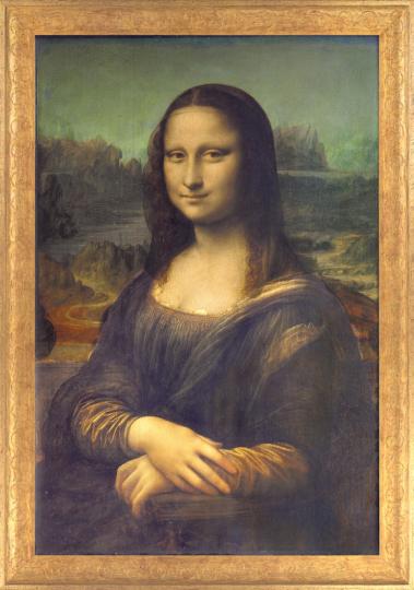 Mona Lisa. Leonardo da Vinci (1452-1519).