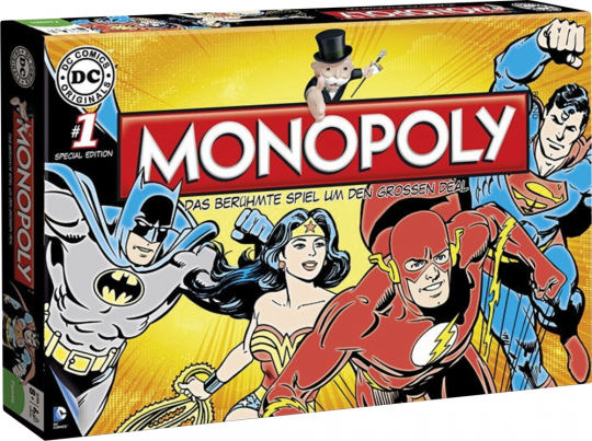 Monopoly »Comic Superhelden«.