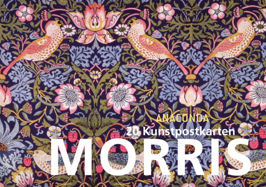 Morris. 20 Kunstpostkarten.