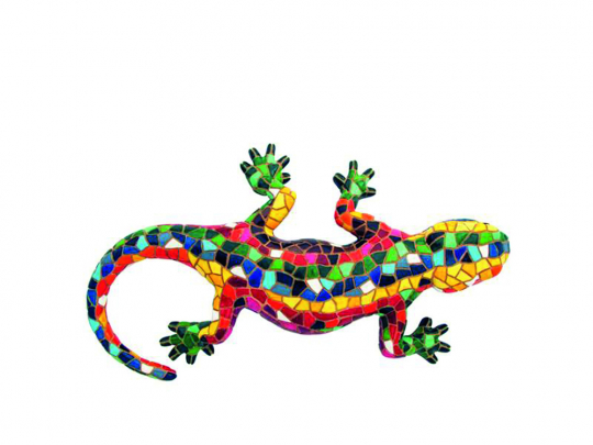 Mosaik Salamander.
