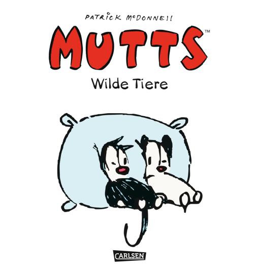 Mutts. Wilde Tiere. Comic.