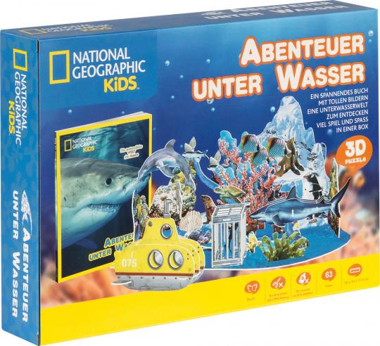 National Geographic Kids. Abenteuer unter Wasser.