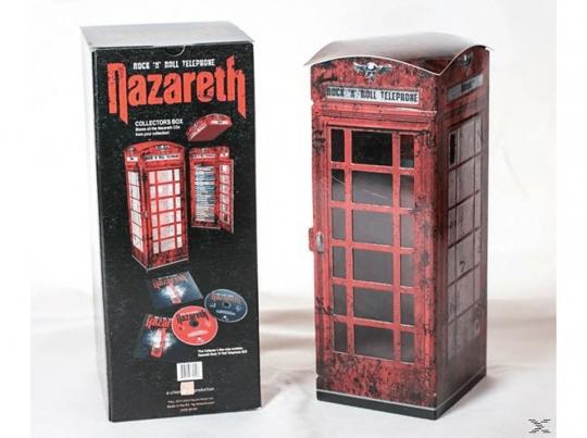 Nazareth: Rock'n'Roll Telephone. Limitiertes 2 CD Box-Set