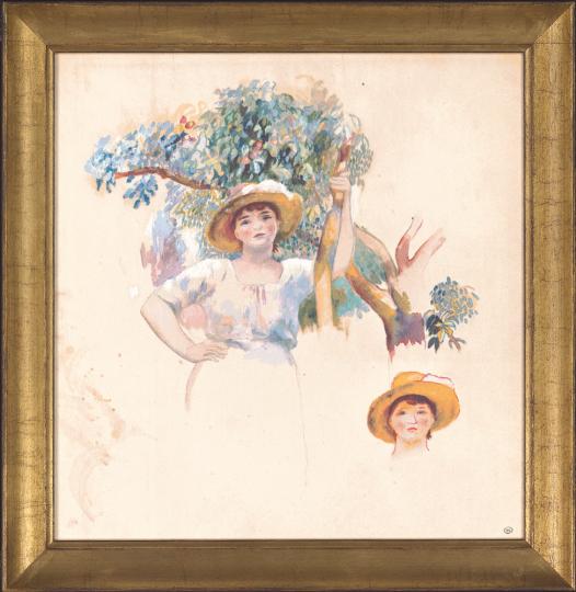Obsternte. Auguste Renoir (1841-1919).