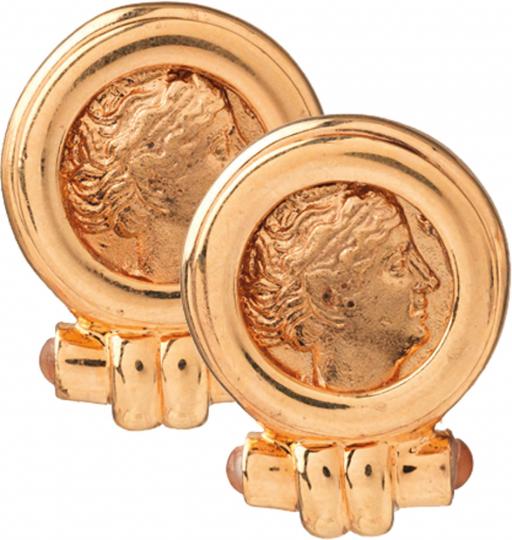 Ohrringe »Römische Münze«.