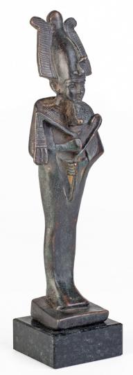 Osiris mit Krone. Ägypten, 650 v. Chr.