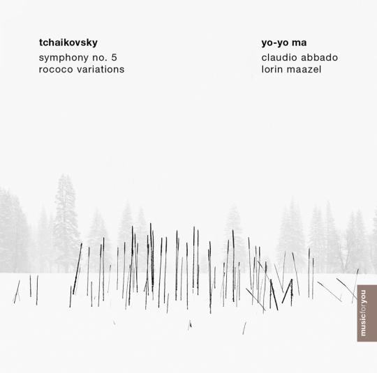 Peter Iljitsch Tschaikowsky. Symphonie Nr. 5 & Rokoko-Variationen. CD.