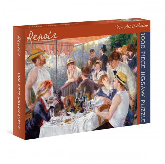 Kunst-Puzzle Pierre-Auguste Renoir. »Das Frühstück der Ruderer«.