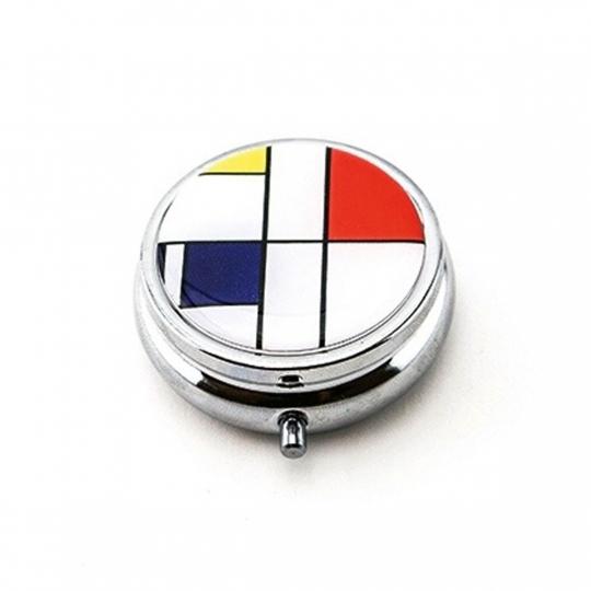 Pillendose Mondrian »Komposition«.