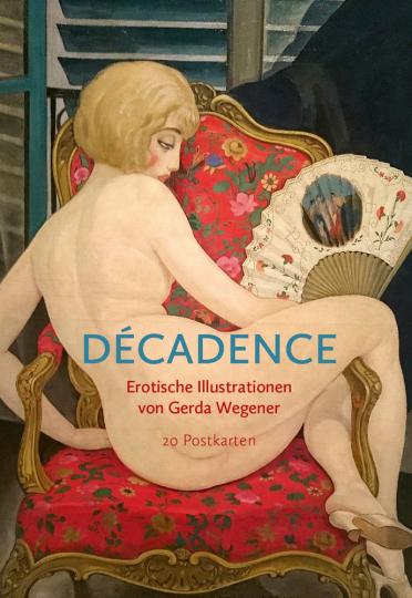 Postkarten-Set »Décadence«.