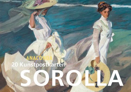 Postkartenbuch Joaquin Sorolla.