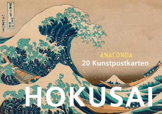 Postkartenbuch Katsushika Hokusai.