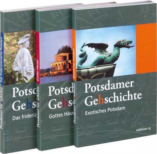 Potsdamer Ge(h)schichte Set. 3 Bände.