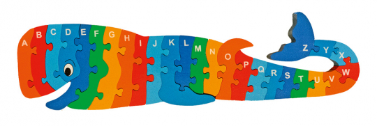 Puzzle »Wal A-Z«.