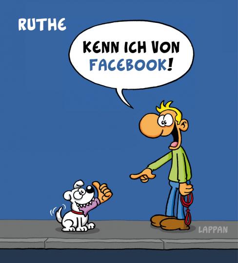 Ralph Ruthe Set. Kenn ich von Facebook. Flossen.