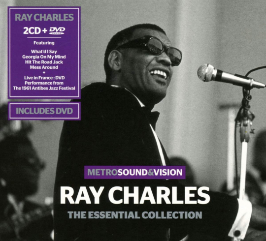 Ray Charles. The Essential Collection. 2 CDs, 1 DVD.