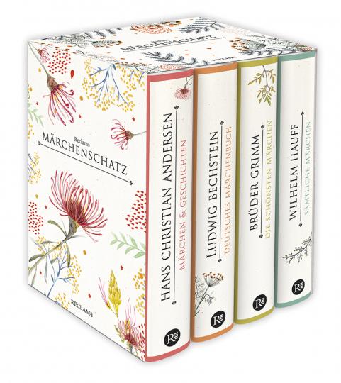 Reclams klassischer Märchenschatz. Vier Bände.