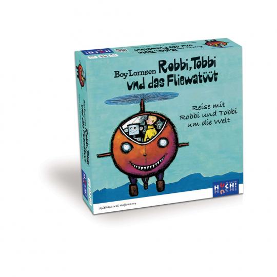 Robbi, Tobbi und das Fliewatüüt. Reise mit Robbi und Tobbi um die Welt. Kinderspiel.