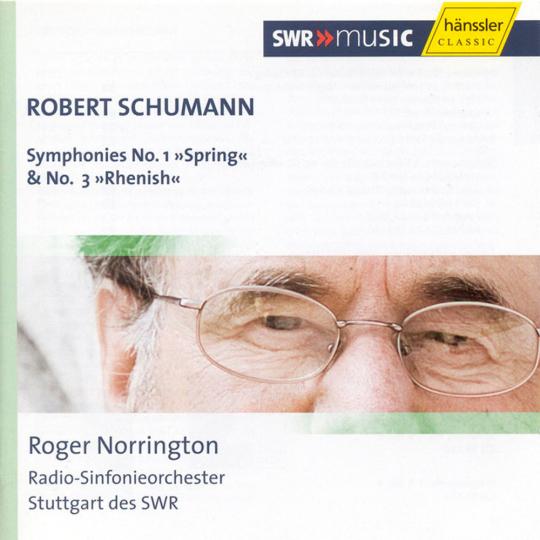 Robert Schumann. Symphonien Nr. 1 & 3.