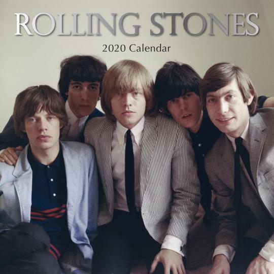 Rolling Stones. Wandkalender 2020.
