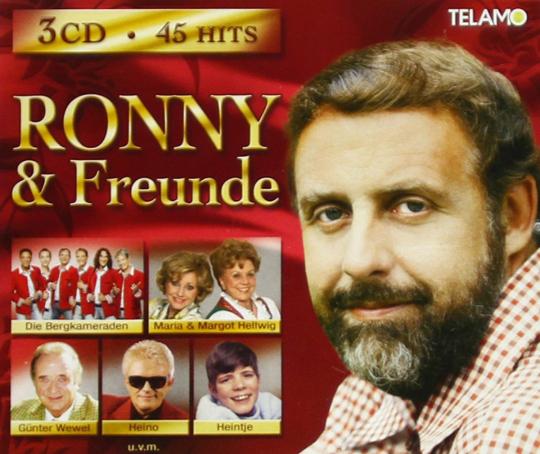 Ronny & Freunde. 3 CDs.