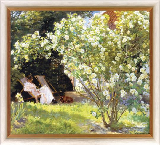 Rosengarten. Peder Severin Krøyer (1851-1909).