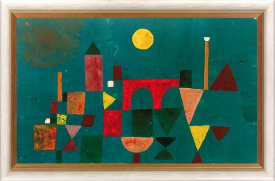 Rote Brücke Paul Klee (1879-1940).
